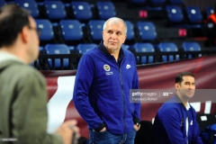 ISTANBUL, TURKEY - MAY 20:  Zeljko Obradovic, Head Coach of Fenerbahce Istanbul during the 2017 Turkish Airlines EuroLeague Final Four Fenerbahce Istanbul Practice at Sinan Erdem Dome on May 20, 2017 in Istanbul, Turkey.  (Photo by Francesco Richieri/Euroleague Basketball via Getty Images)
