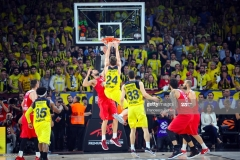 ISTANBUL, TURKEY - MAY 21:  Jan Vesely, #24 of Fenerbahce Istanbul in action during the Championship Game 2017 Turkish Airlines EuroLeague Final Four between Fenerbahce Istanbul v Olympiacos Piraeus at Sinan Erdem Dome on May 21, 2017 in Istanbul, Turkey.  (Photo by Francesco Richieri/Euroleague Basketball via Getty Images)