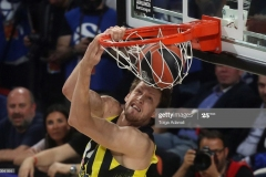 ISTANBUL, TURKEY - MAY 21: Jan Vesely, #24 of Fenerbahce Istanbul in action during the Championship Game 2017 Turkish Airlines EuroLeague Final Four between Fenerbahce Istanbul v Olympiacos Piraeus at Sinan Erdem Dome on May 21, 2017 in Istanbul, Turkey.  (Photo by Tolga Adanali/Euroleague Basketball via Getty Images)