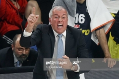 ISTANBUL, TURKEY - MAY 21: Zeljko Obradovic, Head Coach of Fenerbahce Istanbul  in action during the Championship Game 2017 Turkish Airlines EuroLeague Final Four between Fenerbahce Istanbul v Olympiacos Piraeus at Sinan Erdem Dome on May 21, 2017 in Istanbul, Turkey.  (Photo by Tolga Adanali/Euroleague Basketball via Getty Images)
