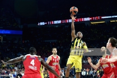 ISTANBUL, TURKEY - MAY 21: Bobby Dixon, #35 of Fenerbahce Istanbul in action during the Championship Game 2017 Turkish Airlines EuroLeague Final Four between Fenerbahce Istanbul v Olympiacos Piraeus at Sinan Erdem Dome on May 21, 2017 in Istanbul, Turkey.  (Photo by Luca Sgamellotti/Euroleague Basketball via Getty Images)