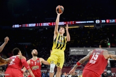 ISTANBUL, TURKEY - MAY 21: Bogdan Bogdanovic, #13 of Fenerbahce Istanbul in action during the Championship Game 2017 Turkish Airlines EuroLeague Final Four between Fenerbahce Istanbul v Olympiacos Piraeus at Sinan Erdem Dome on May 21, 2017 in Istanbul, Turkey.  (Photo by Luca Sgamellotti/Euroleague Basketball via Getty Images)