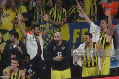 ISTANBUL, TURKEY - MAY 21: Pero Antic, #12 of Fenerbahce Istanbul in action during the Championship Game 2017 Turkish Airlines EuroLeague Final Four between Fenerbahce Istanbul v Olympiacos Piraeus at Sinan Erdem Dome on May 21, 2017 in Istanbul, Turkey.  (Photo by Tolga Adanali/Euroleague Basketball via Getty Images)