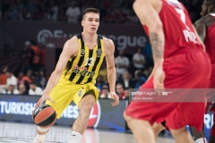 ISTANBUL, TURKEY - MAY 21:  Bogdan Bogdanovic, #13 of Fenerbahce Istanbul in action during the Championship Game 2017 Turkish Airlines EuroLeague Final Four between Fenerbahce Istanbul v Olympiacos Piraeus at Sinan Erdem Dome on May 21, 2017 in Istanbul, Turkey.  (Photo by Patrick Albertini/Euroleague Basketball via Getty Images)