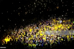 ISTANBUL, TURKEY - MAY 21:  Fenerbahce Istanbul's supporters during the Championship Game 2017 Turkish Airlines EuroLeague Final Four between Fenerbahce Istanbul v Olympiacos Piraeus at Sinan Erdem Dome on May 21, 2017 in Istanbul, Turkey.  (Photo by Francesco Richieri/Euroleague Basketball via Getty Images)
