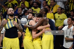 ISTANBUL, TURKEY - MAY 21: Ekpe Udoh, #8a and Bogdan Bogdanovic, #13 of Fenerbahce Istanbul during the Championship Game 2017 Turkish Airlines EuroLeague Final Four between Fenerbahce Istanbul v Olympiacos Piraeus at Sinan Erdem Dome on May 21, 2017 in Istanbul, Turkey.  (Photo by Luca Sgamellotti/Euroleague Basketball via Getty Images)