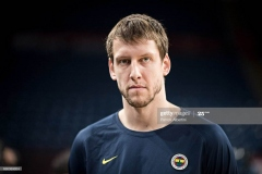 ISTANBUL, TURKEY - MAY 20:  Jan Vesely, #24 of Fenerbahce Istanbul during the 2017 Turkish Airlines EuroLeague Final Four Fenerbahce Istanbul Practice at Sinan Erdem Dome on May 20, 2017 in Istanbul, Turkey.  (Photo by Patrick Albertini/Euroleague Basketball via Getty Images)