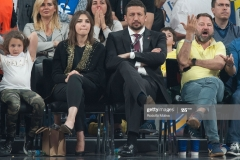 ISTANBUL, TURKEY - MAY 19:  Hiyadiet Turkoglu, President of Turkish Basketball Federation attending to Turkish Airlines EuroLeague Final Four Semifinal A game between Fenerbahce Istanbul v Real  Madrid at Sinan Erdem Dome on May 19, 2017 in Istanbul, Turkey.  (Photo by Rodolfo Molina/Euroleague Basketball via Getty Images)