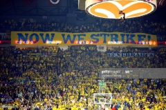ISTANBUL, TURKEY - MAY 19:  Supporters of Fenerbahce Istanbul  during the Turkish Airlines EuroLeague Final Four Semifinal A game between Fenerbahce Istanbul v Real  Madrid at Sinan Erdem Dome on May 19, 2017 in Istanbul, Turkey.  (Photo by Francesco Richieri/Euroleague Basketball via Getty Images)