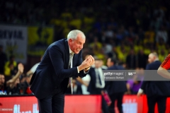 ISTANBUL, TURKEY - MAY 19:  Zeljko Obradovic, Head Coach of Fenerbahce Istanbul during the Turkish Airlines EuroLeague Final Four Semifinal A game between Fenerbahce Istanbul v Real  Madrid at Sinan Erdem Dome on May 19, 2017 in Istanbul, Turkey.  (Photo by Francesco Richieri/Euroleague Basketball via Getty Images)