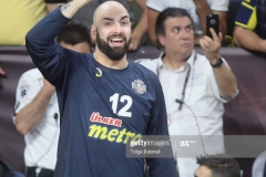 ISTANBUL, TURKEY - MAY 19: Pero Antic, #12 of Fenerbahce Istanbul in action during the Turkish Airlines EuroLeague Final Four Semifinal A game between Fenerbahce Istanbul v Real  Madrid at Sinan Erdem Dome on May 19, 2017 in Istanbul, Turkey.  (Photo by Tolga Adanali/Euroleague Basketball via Getty Images)
