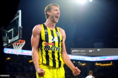 ISTANBUL, TURKEY - MAY 19:  Jan Vesely, #24 of Fenerbahce Istanbul during the Turkish Airlines EuroLeague Final Four Semifinal A game between Fenerbahce Istanbul v Real  Madrid at Sinan Erdem Dome on May 19, 2017 in Istanbul, Turkey.  (Photo by Francesco Richieri/Euroleague Basketball via Getty Images)