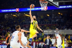 ISTANBUL, TURKEY - MAY 19:  Luigi Datome, #70 of Fenerbahce Istanbul in action during the Turkish Airlines EuroLeague Final Four Semifinal A game between Fenerbahce Istanbul v Real  Madrid at Sinan Erdem Dome on May 19, 2017 in Istanbul, Turkey.  (Photo by Francesco Richieri/Euroleague Basketball via Getty Images)