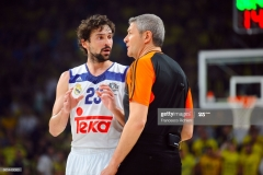 ISTANBUL, TURKEY - MAY 19:  Sergio Llull, #23 of Real Madrid during the Turkish Airlines EuroLeague Final Four Semifinal A game between Fenerbahce Istanbul v Real  Madrid at Sinan Erdem Dome on May 19, 2017 in Istanbul, Turkey.  (Photo by Francesco Richieri/Euroleague Basketball via Getty Images)