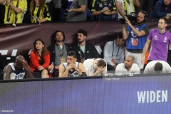 ISTANBUL, TURKEY - MAY 19: Real Madrid players during the Turkish Airlines EuroLeague Final Four Semifinal A game between Fenerbahce Istanbul v Real  Madrid at Sinan Erdem Dome on May 19, 2017 in Istanbul, Turkey.  (Photo by Tolga Adanali/Euroleague Basketball via Getty Images)