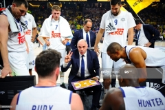 ISTANBUL, TURKEY - MAY 19:  Time out during the Turkish Airlines EuroLeague Final Four Semifinal A game between Fenerbahce Istanbul v Real  Madrid at Sinan Erdem Dome on May 19, 2017 in Istanbul, Turkey.  (Photo by Francesco Richieri/Euroleague Basketball via Getty Images)