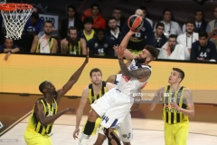 ISTANBUL, TURKEY - MAY 19: Jeffery Taylor, #44 of Real Madrid in action during the Turkish Airlines EuroLeague Final Four Semifinal A game between Fenerbahce Istanbul v Real  Madrid at Sinan Erdem Dome on May 19, 2017 in Istanbul, Turkey.  (Photo by Tolga Adanali/Euroleague Basketball via Getty Images)
