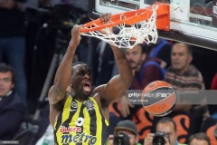 ISTANBUL, TURKEY - MAY 19: Ekpe Udoh, #8 of Fenerbahce Istanbul in action during the Turkish Airlines EuroLeague Final Four Semifinal A game between Fenerbahce Istanbul v Real  Madrid at Sinan Erdem Dome on May 19, 2017 in Istanbul, Turkey.  (Photo by Tolga Adanali/Euroleague Basketball via Getty Images)