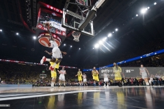 ISTANBUL, TURKEY - MAY 19:  Othello Hunter, #21 of Real Madrid in action during the Turkish Airlines EuroLeague Final Four Semifinal A game between Fenerbahce Istanbul v Real  Madrid at Sinan Erdem Dome on May 19, 2017 in Istanbul, Turkey.  (Photo by Rodolfo Molina/Euroleague Basketball via Getty Images)