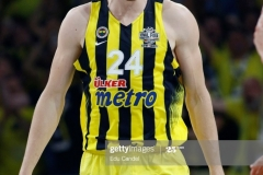 ISTANBUL, TURKEY - MAY 19: Jan Vesely, #24 of Fenerbahce Istanbul  in action during the Turkish Airlines EuroLeague Final Four Semifinal A game between Fenerbahce Istanbul v Real  Madrid at Sinan Erdem Dome on May 19, 2017 in Istanbul, Turkey.  (Photo by Edu Candel/Euroleague Basketball via Getty Images)