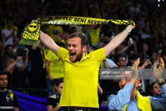 ISTANBUL, TURKEY - MAY 19:  Fenerbahce Istanbul's supporter during the Turkish Airlines EuroLeague Final Four Semifinal A game between Fenerbahce Istanbul v Real  Madrid at Sinan Erdem Dome on May 19, 2017 in Istanbul, Turkey.  (Photo by Francesco Richieri/Euroleague Basketball via Getty Images)