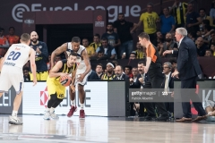 ISTANBUL, TURKEY - MAY 19:  Kostas Sloukas, #16 of Fenerbahce Istanbul in action during the Turkish Airlines EuroLeague Final Four Semifinal A game between Fenerbahce Istanbul v Real  Madrid at Sinan Erdem Dome on May 19, 2017 in Istanbul, Turkey.  (Photo by Patrick Albertini/Euroleague Basketball via Getty Images)