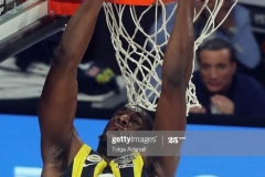 ISTANBUL, TURKEY - MAY 19: Ekpe Udoh, #8 of Fenerbahce Istanbul in action during the Turkish Airlines EuroLeague Final Four Semifinal A game between Fenerbahce Istanbul and Real  Madrid at Sinan Erdem Dome on May 19, 2017 in Istanbul, Turkey.  (Photo by Tolga Adanali/Euroleague Basketball via Getty Images)