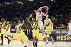 ISTANBUL, TURKEY - MAY 19: Jonas Maciulis, #8 of Real Madrid in action during the Turkish Airlines EuroLeague Final Four Semifinal A game between Fenerbahce Istanbul v Real  Madrid at Sinan Erdem Dome on May 19, 2017 in Istanbul, Turkey.  (Photo by Luca Sgamellotti/Euroleague Basketball via Getty Images)
