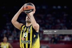 ISTANBUL, TURKEY - MAY 19: Kostas Sloukas, #16 of Fenerbahce Istanbul in action during the Turkish Airlines EuroLeague Final Four Semifinal A game between Fenerbahce Istanbul v Real Madrid at Sinan Erdem Dome on May 19, 2017 in Istanbul, Turkey. (Photo by Luca Sgamellotti/Euroleague Basketball via Getty Images)