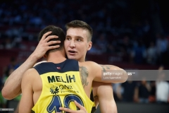 ISTANBUL, TURKEY - MAY 19: Bogdan Bogdanovic, #13 of Fenerbahce Istanbul at the end of the Turkish Airlines EuroLeague Final Four Semifinal A game between Fenerbahce Istanbul v Real Madrid at Sinan Erdem Dome on May 19, 2017 in Istanbul, Turkey. (Photo by Luca Sgamellotti/Euroleague Basketball via Getty Images)