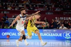 ISTANBUL, TURKEY - MAY 19: Bogdan Bogdanovic, #13 of Fenerbahce Istanbul in action during the Turkish Airlines EuroLeague Final Four Semifinal A game between Fenerbahce Istanbul v Real  Madrid at Sinan Erdem Dome on May 19, 2017 in Istanbul, Turkey.  (Photo by Luca Sgamellotti/Euroleague Basketball via Getty Images)