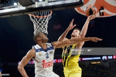 ISTANBUL, TURKEY - MAY 19: Jan Vesely, #24 of Fenerbahce Istanbul in action during the Turkish Airlines EuroLeague Final Four Semifinal A game between Fenerbahce Istanbul v Real Madrid at Sinan Erdem Dome on May 19, 2017 in Istanbul, Turkey. (Photo by Luca Sgamellotti/Euroleague Basketball via Getty Images)