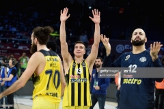 ISTANBUL, TURKEY - MAY 19: Bogdan Bogdanovic, #13 of Fenerbahce Istanbul at the end of Turkish Airlines EuroLeague Final Four Semifinal A game between Fenerbahce Istanbul v Real Madrid at Sinan Erdem Dome on May 19, 2017 in Istanbul, Turkey. (Photo by Luca Sgamellotti/Euroleague Basketball via Getty Images)