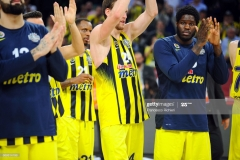 ISTANBUL, TURKEY - MAY 19:  Anthony Bennett, #15 of Fenerbahce Istanbul  after the Turkish Airlines EuroLeague Final Four Semifinal A game between Fenerbahce Istanbul v Real  Madrid at Sinan Erdem Dome on May 19, 2017 in Istanbul, Turkey.  (Photo by Francesco Richieri/Euroleague Basketball via Getty Images)