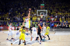 ISTANBUL, TURKEY - MAY 19:  Tip off  during the Turkish Airlines EuroLeague Final Four Semifinal A game between Fenerbahce Istanbul v Real  Madrid at Sinan Erdem Dome on May 19, 2017 in Istanbul, Turkey.  (Photo by Francesco Richieri/Euroleague Basketball via Getty Images)