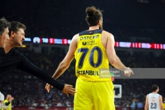 ISTANBUL, TURKEY - MAY 19:  Luigi Datome, #70 of Fenerbahce Istanbul during the Turkish Airlines EuroLeague Final Four Semifinal A game between Fenerbahce Istanbul v Real  Madrid at Sinan Erdem Dome on May 19, 2017 in Istanbul, Turkey.  (Photo by Francesco Richieri/Euroleague Basketball via Getty Images)
