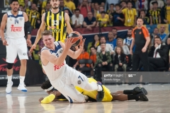 ISTANBUL, TURKEY - MAY 19:  Luka Doncic, #7 of Real Madrid in action during the Turkish Airlines EuroLeague Final Four Semifinal A game between Fenerbahce Istanbul v Real  Madrid at Sinan Erdem Dome on May 19, 2017 in Istanbul, Turkey.  (Photo by Rodolfo Molina/Euroleague Basketball via Getty Images)