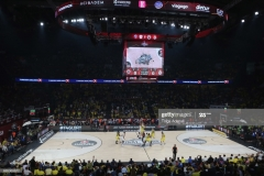 ISTANBUL, TURKEY - MAY 19:  General view ofTurkish Airlines EuroLeague Final Four Semifinal A game between Fenerbahce Istanbul v Real  Madrid at Sinan Erdem Dome on May 19, 2017 in Istanbul, Turkey.  (Photo by Tolga Adanali/Euroleague Basketball via Getty Images)