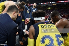 ISTANBUL, TURKEY - MAY 19: Zeljko Obradovic, Head Coach of Fenerbahce Istanbul during the Turkish Airlines EuroLeague Final Four Semifinal A game between Fenerbahce Istanbul v Real  Madrid at Sinan Erdem Dome on May 19, 2017 in Istanbul, Turkey.  (Photo by Luca Sgamellotti/Euroleague Basketball via Getty Images)