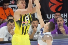 ISTANBUL, TURKEY - MAY 19: Bogdan Bogdanovic, #13 of Fenerbahce Istanbul in action during the Turkish Airlines EuroLeague Final Four Semifinal A game between Fenerbahce Istanbul v Real  Madrid at Sinan Erdem Dome on May 19, 2017 in Istanbul, Turkey.  (Photo by Tolga Adanali/Euroleague Basketball via Getty Images)