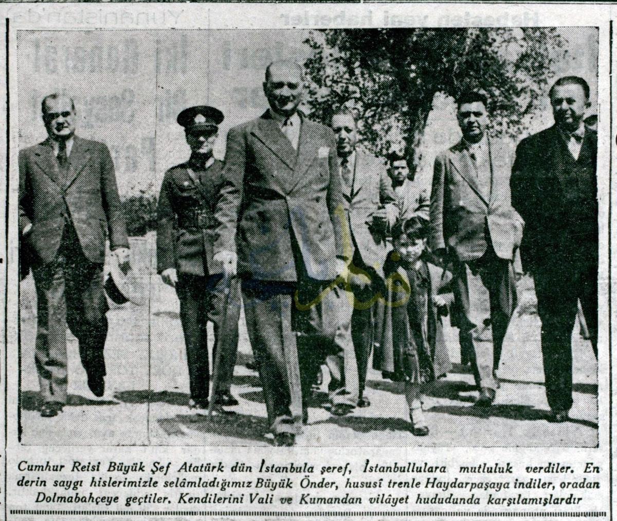 Atatürk Fenerbahçe'de