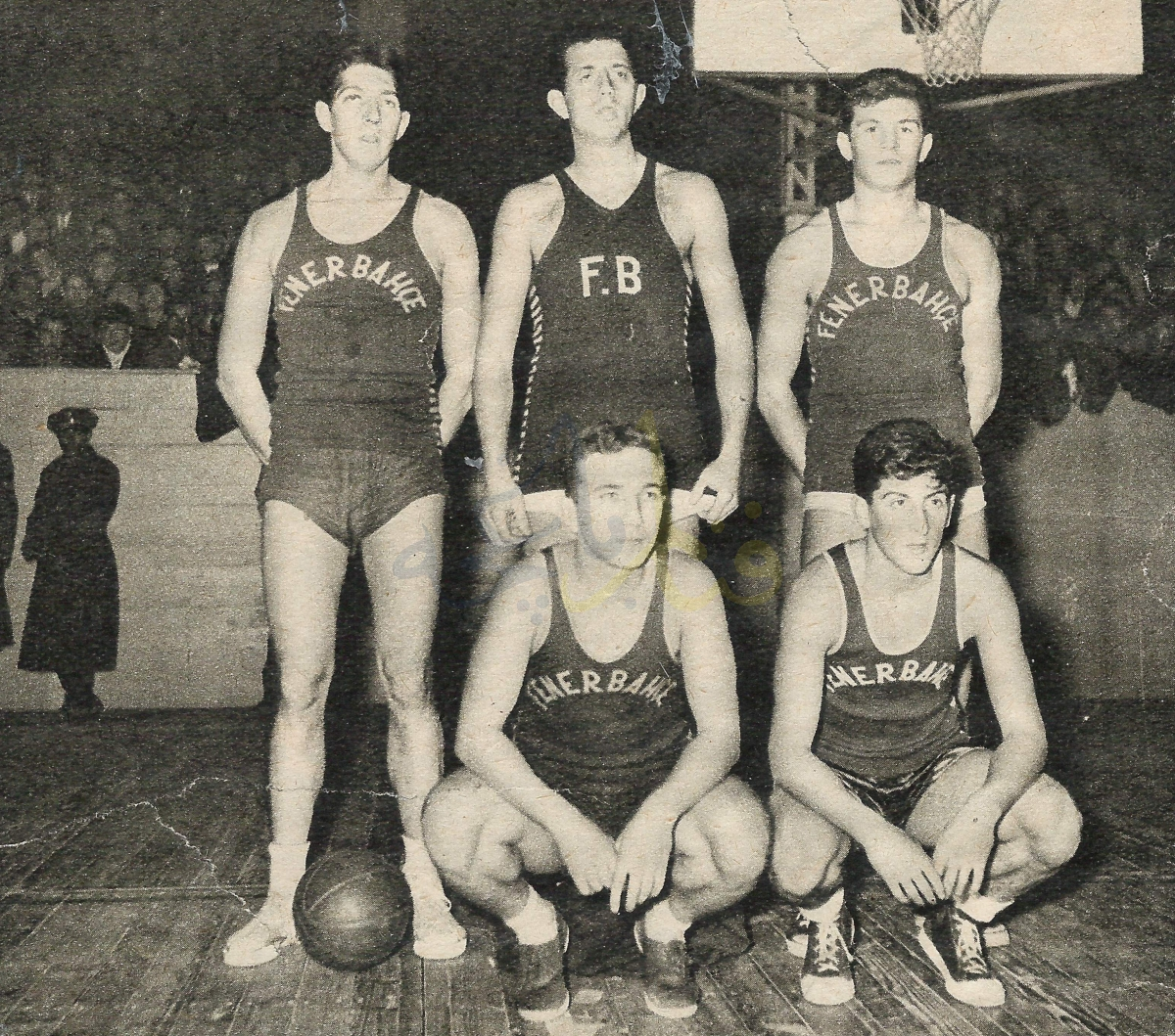 Fenerbahçe'nin Basketbolda İlk Türkiye Şampiyonluğu