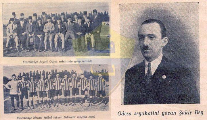 Fenerbahçe'nin İlk Yurt Dışı Seyahati