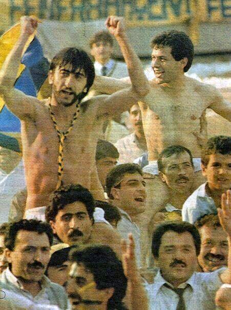 Fenerbahçe'nin 21'inci Türkiye Şampiyonluğu... 11 Haziran 1989 tarihli Şampiyonluk Turundan