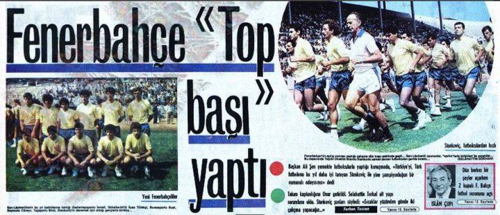 İki Kupalı Fenerbahçe Futbol Sezonunu Açtı