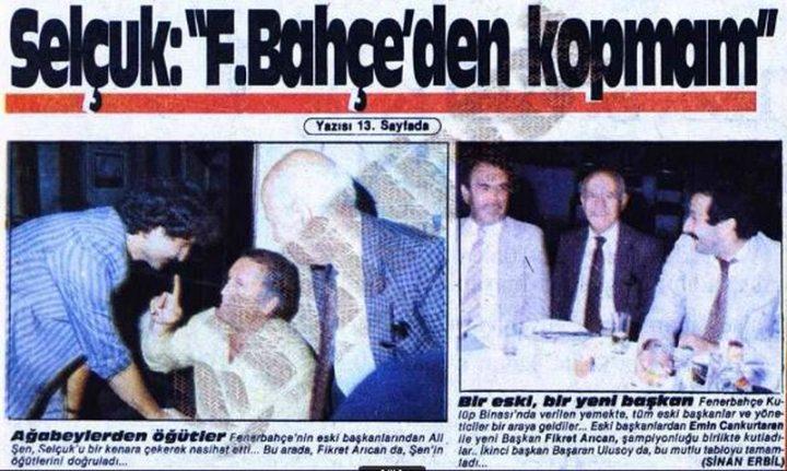 Fenerbahçe'yi Bırakanlar Hep Kaybetmiştir