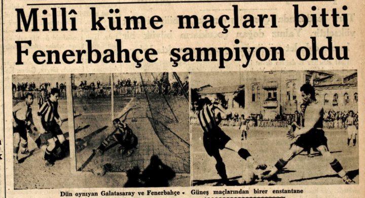 Fenerbahçe'nin Üçüncü Türkiye Şampiyonluğu