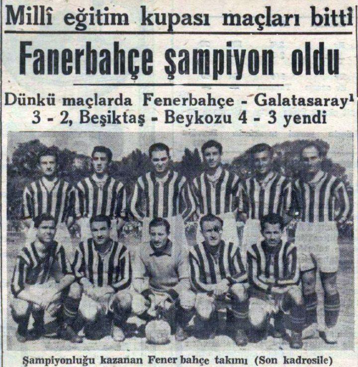Fenerbahçe'nin Yedinci Türkiye Şampiyonluğu