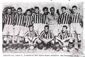 Fenerbahçe'nin Dokuzuncu Türkiye Şampiyonluğu