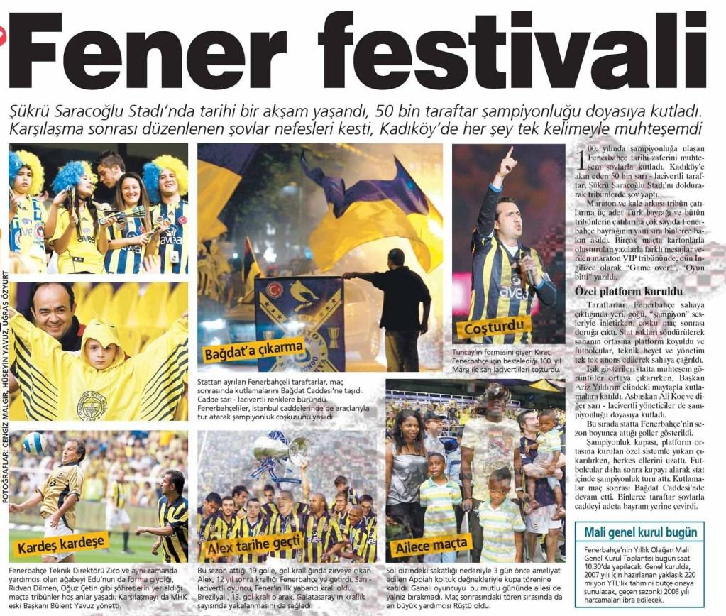 İzmir'de Atılan Şampiyonluk Turu